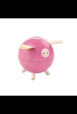 Plan Toys PLAN TOY - PIGGY BANK - PINK