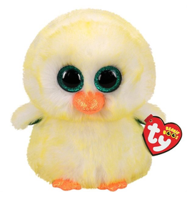 Ty BEANIE BABIES - LEMON DROP MED CHICK