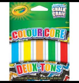 Crayola 5CT COLOUR CORE SIDEWALK CHALK