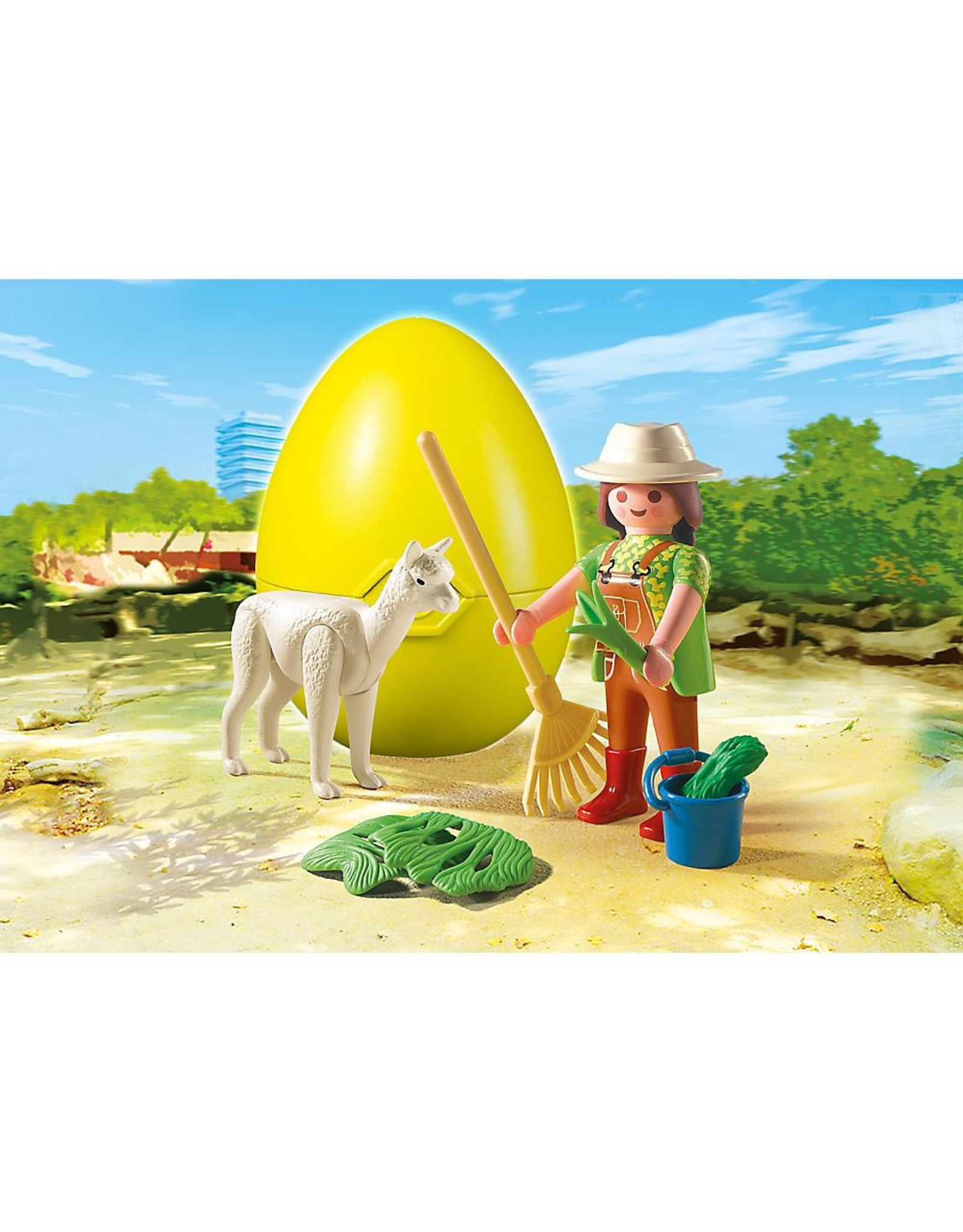 Playmobil 4944 ZOOKEEPER WITH ALPACA