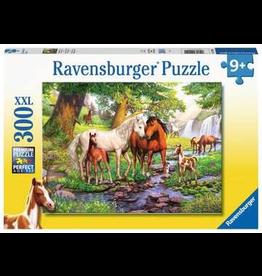 Ravensburger HORSES BY THE STREAM 300 PCS PUZZLE