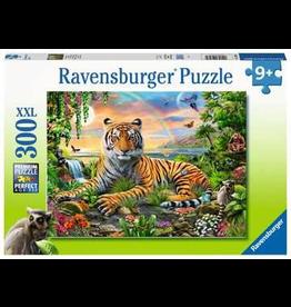 Ravensburger RAVENSBURGER - JUNGLE TIGER (300 PC)