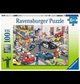 Ravensburger RAVENSBURGER - POLICE ON PATROL (100 PC)