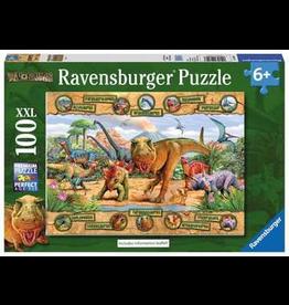 Ravensburger RAVENSBURGER - DINOSAURS (100 PC)