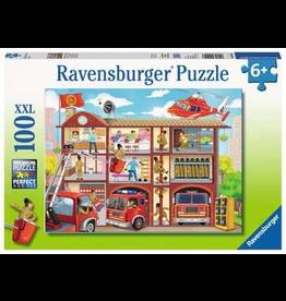 Ravensburger RAVENSBURGER - FIREHOUSE FRENZY (100 PC)