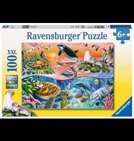 Ravensburger RAVENSBURGER - BEAUTIFUL OCEAN (100 PC)