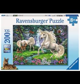 Ravensburger RAVENSBURGER - MYSTICAL UNICORNS (200 PC)