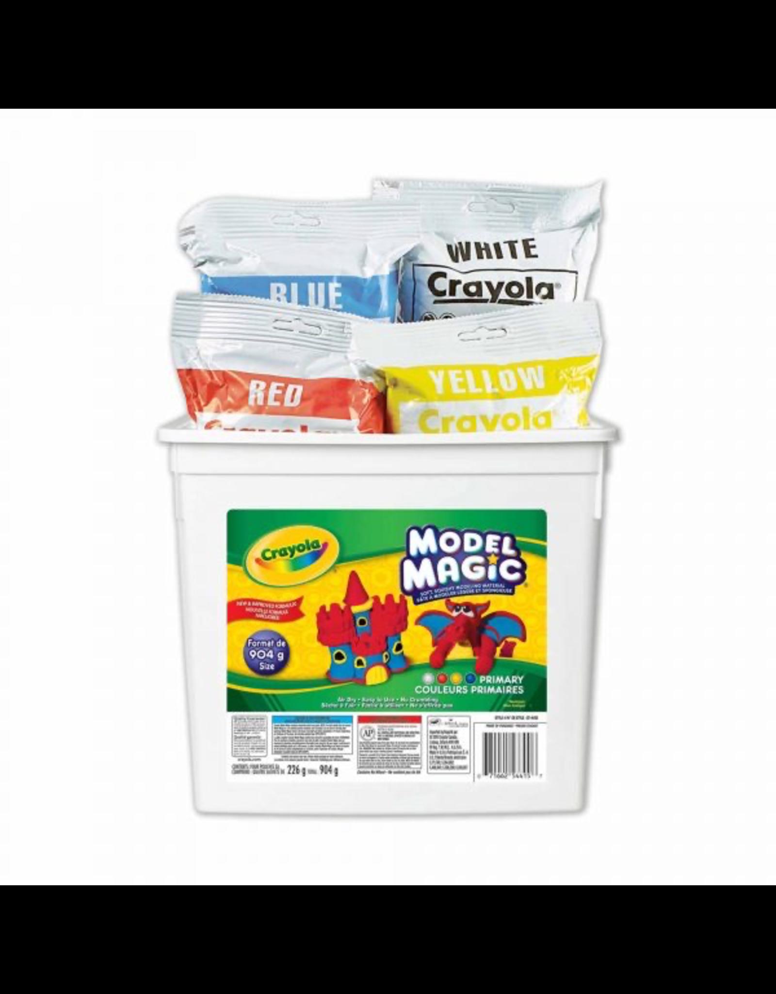 Crayola MODEL MAGIC BUCKET - 4 COLOURS 904 G