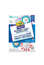 Crayola CRAYOLA PROJECT PREMIUM WHITE CONSTRUCTION PAPER - 50 SHEETS
