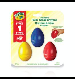 Crayola MY FIRST PALM GRASP CRAYONS