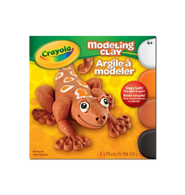Crayola MODELLING CLAY, 4 SECONDARY COLOURS