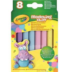 Crayola MODELLING CLAY, 8 PASTEL