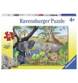 Ravensburger RAVENSBURGER - SAFARI ANIMALS (60 PC)