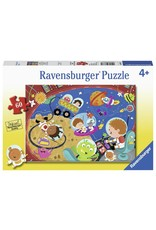 Ravensburger RAVENSBURGER - RECESS IN SPACE!  (60 PC)