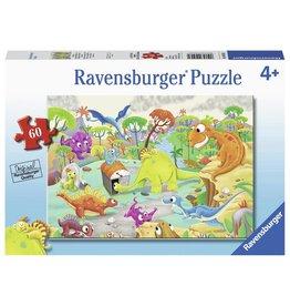 Ravensburger RAVENSBURGER - TIME TRAVELING DINOS (60 PC)
