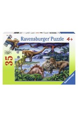 Ravensburger RAVENSBURGER - DINOSAUR PLAYGROUND  (35 PC)