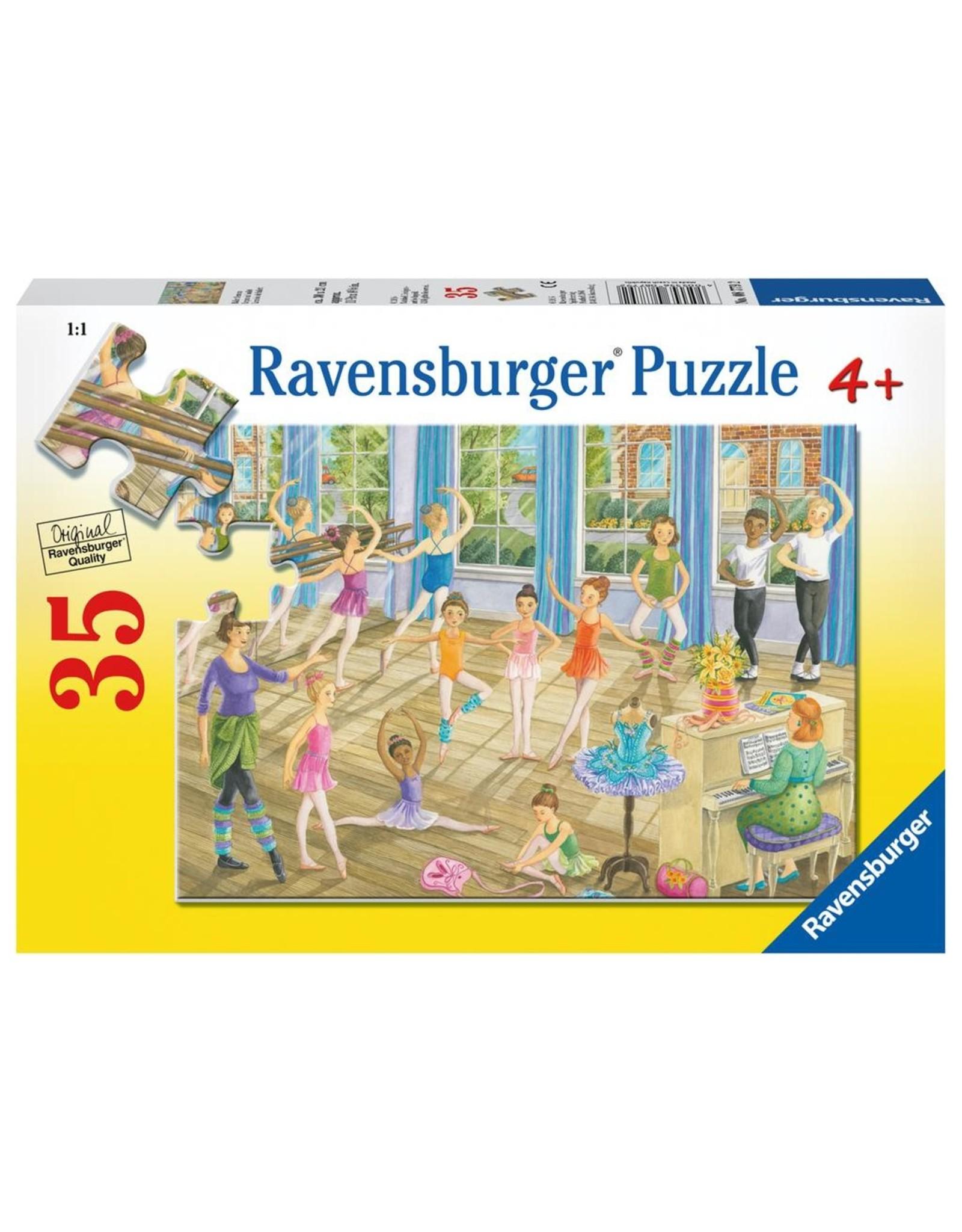 Ravensburger RAVENSBURGER - BALLET LESSON  (35 PC)