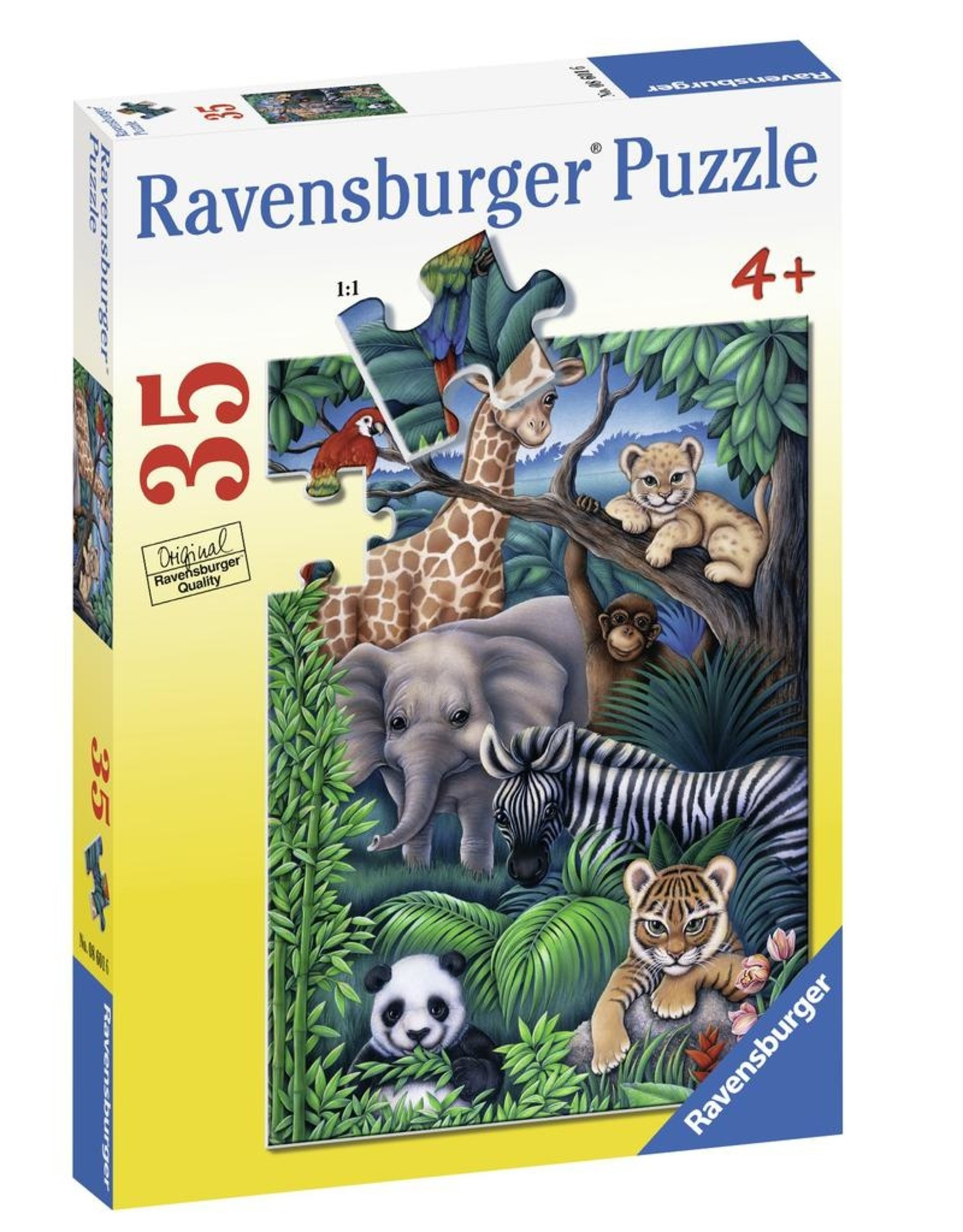 Ravensburger RAVENSBURGER - ANIMAL KINGDOM  (35 PC)