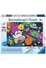 Ravensburger RAVENSBURGER - SPACE ROCKET (24PC)