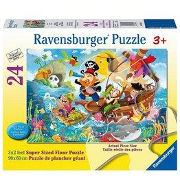 Ravensburger LAND AHOY! 24 PCS FLOOR PUZZLE