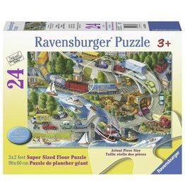 Ravensburger RAVENSBURGER - VACATION HUSTLE (24PC)
