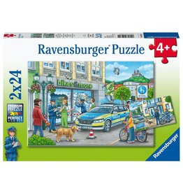 Ravensburger RAVENSBURGER - POLICE AT WORK! (2 X 24 PC)