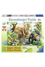 Ravensburger JUNGLE JUNIORS - 24pc Floor Puzzle