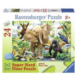 Ravensburger JUNGLE JUNIORS - 24pc Floor Puzzle
