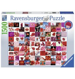Ravensburger 99 BEAUTIFUL RED THINGS - 1500 PC