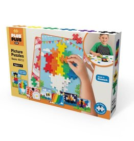 Plus-Plus PLUS PLUS BIG PICTURE PUZZLES 60 PCS