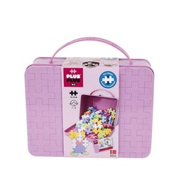 Plus-Plus PLUS PLUS METAL SUITCASE  BIG PASTEL 70PC