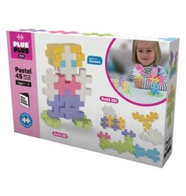 Plus-Plus BIG 45PCS - PASTEL