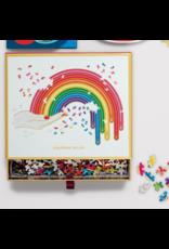 Galison Jonathan Adler Rainbow Hand 750 Piece Shaped Puzzle