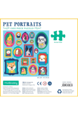 Mudpuppy Pet Portraits 500 Piece Puzzle