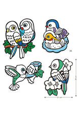 Djeco COLOURING VELVET  BABY BIRDS