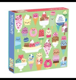 Mudpuppy Cat Cafe 500 Piece Puzzle