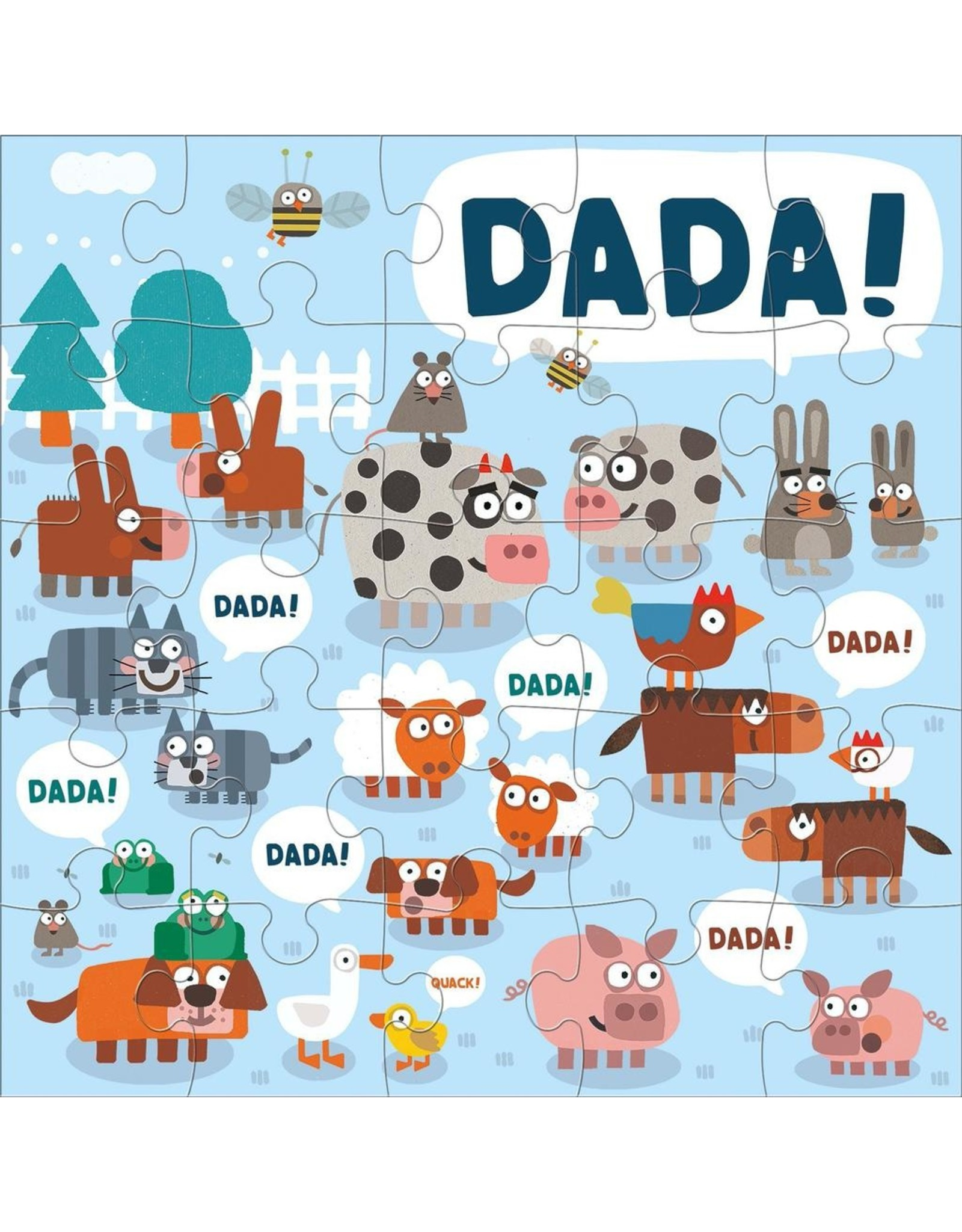 Mudpuppy Jimmy Fallon Your Baby's First Word Will Be Dada Jumbo Puzzle