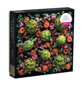 Galison Artichoke Floral 500 Piece Puzzle