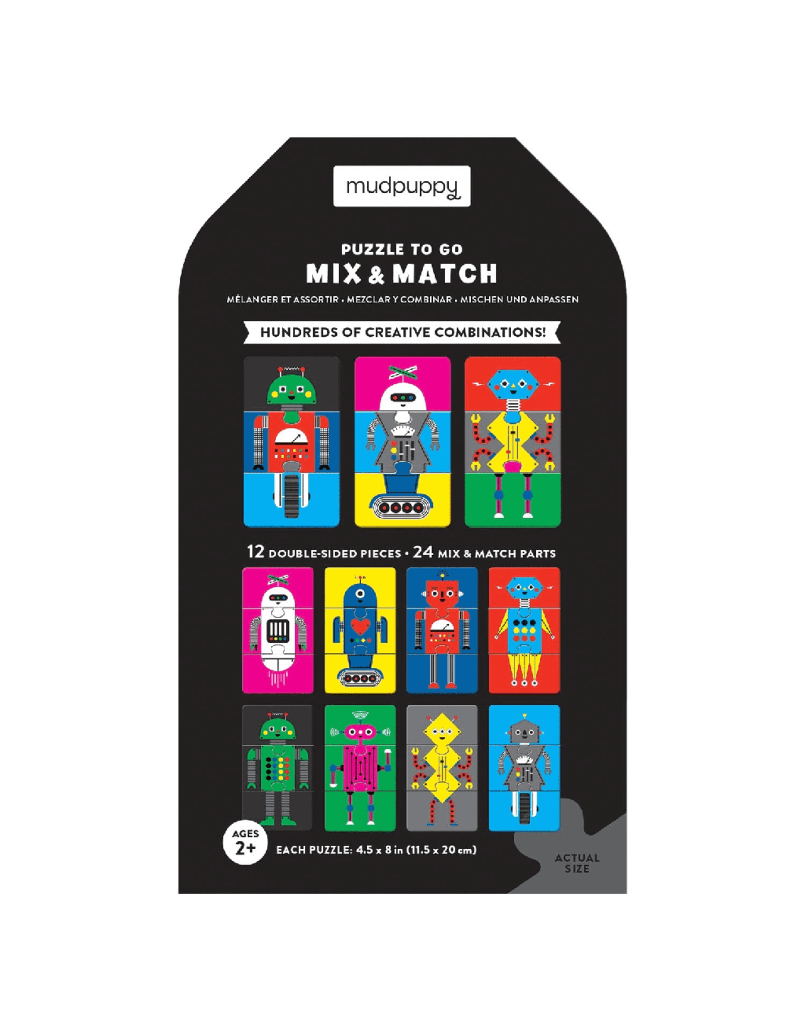 Mudpuppy Robotics Lab Mix & Match Puzzle To Go