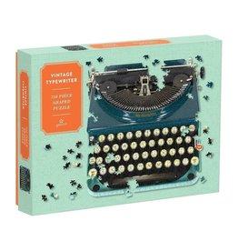 Galison Vintage Typewriter 750 Piece Shaped Puzzle