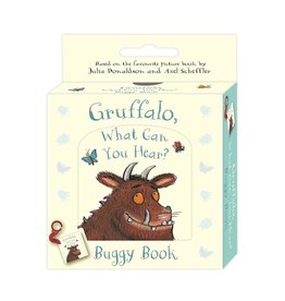 Raincoast Books GRUFFALO, WHAT CAN YOU HEAR? A BUGGY BOOK