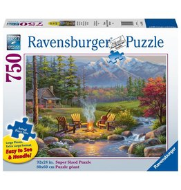 Ravensburger RIVERSIDE LIVINGROOM 750 PC LARGE FORMAT