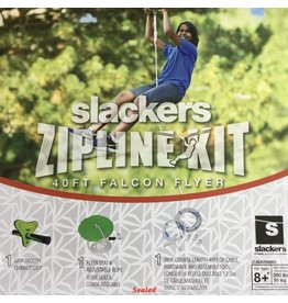 Slackers 40' SLACKERS ZIPLINE - FALCON SERIES FLYER SEAT KIT