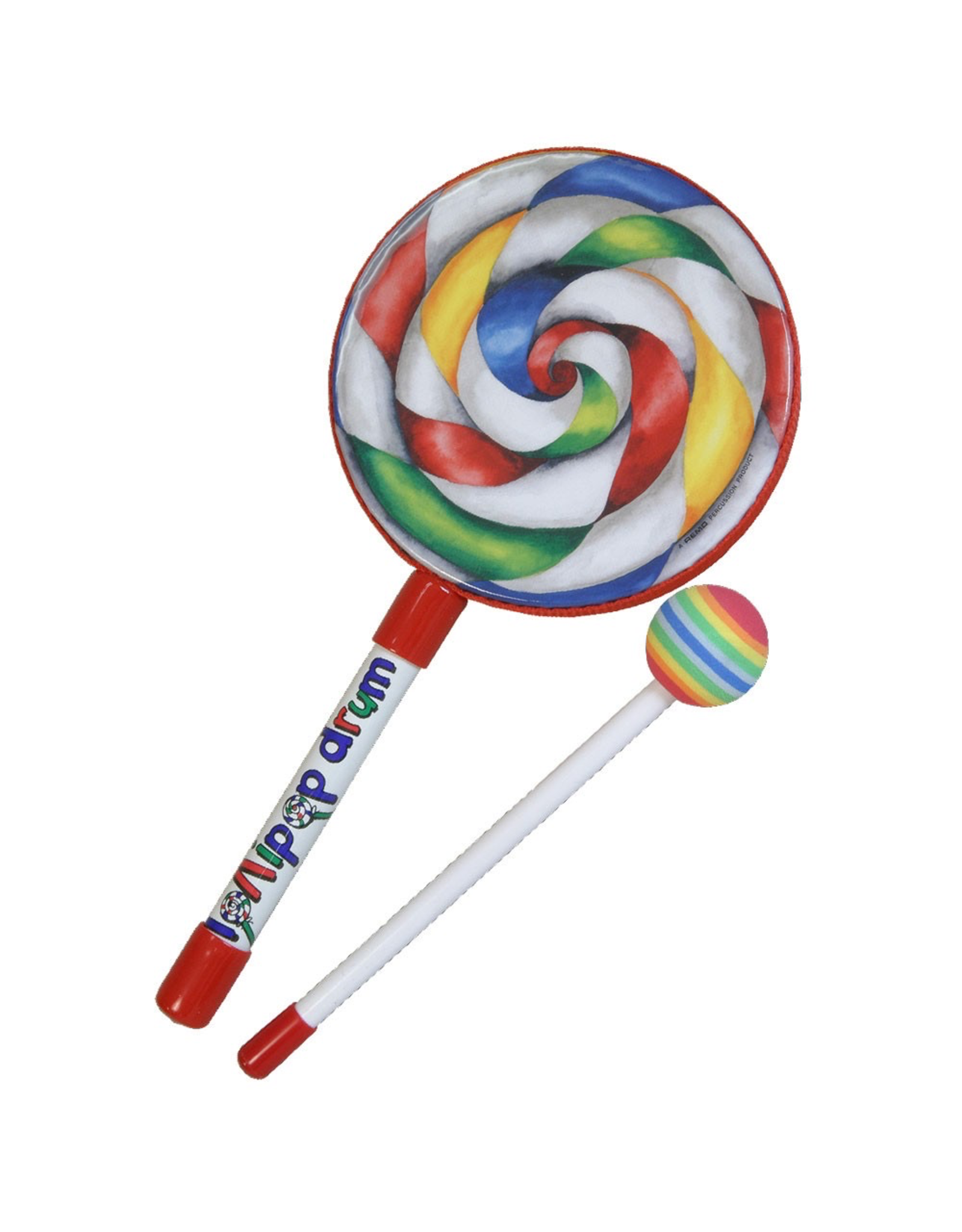 Remo REMO LOLLIPOP DRUM 6 INCH WITH MALLET