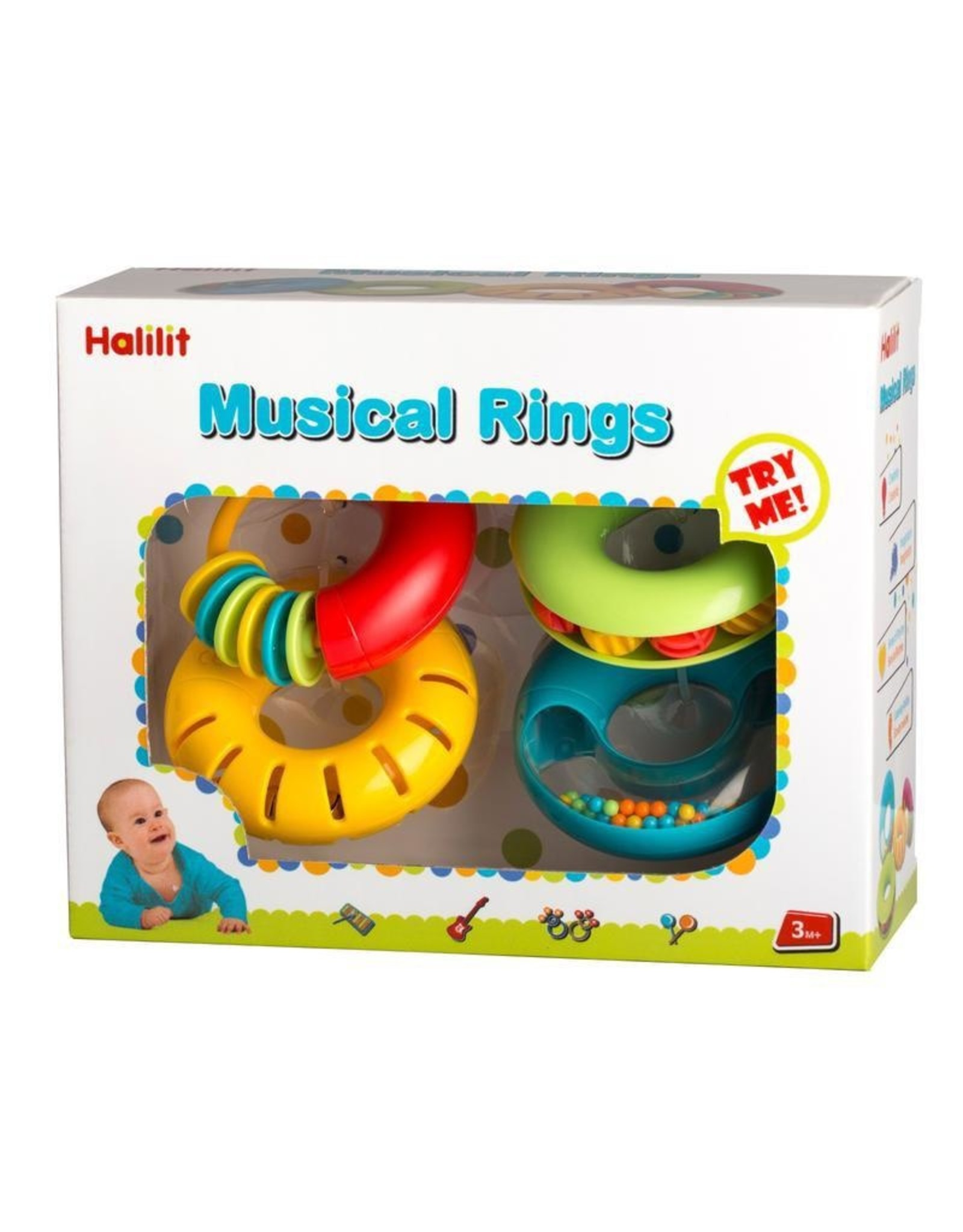 Halilit MUSICAL RINGS BY HALILIT