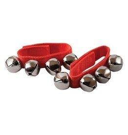 Mano MANO PERCUSSION KIDS WRIST BELLS - RED