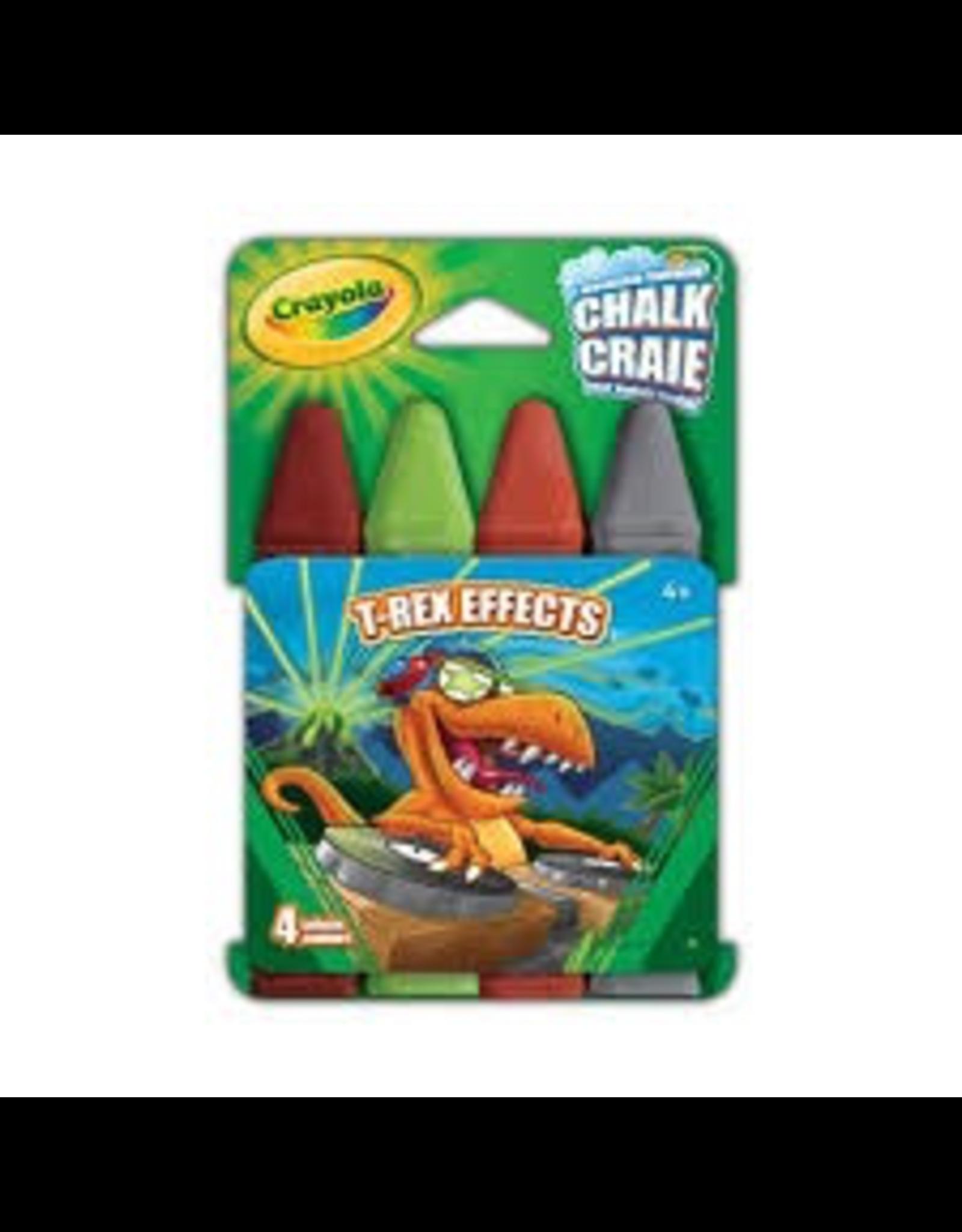 Crayola T-REX EFFECTS SIDEWALK CHALK