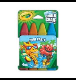 Crayola POOL PARTY SIDEWALK CHALK