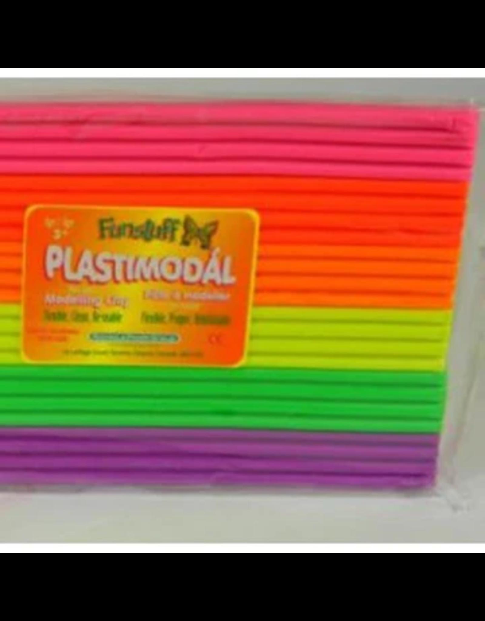 Funstuff Plastimodal Modelling Clay Fluorescent, 300 gr