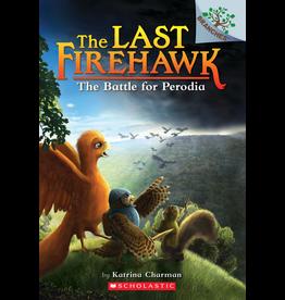Scholastic LAST FIREHAWK #6 THE BATTLE FOR PERODIA